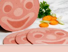 Feldhues-Group - Your manufacturer of character meat products for kids, e. g. Billy Clown, Happy Monkey, etc., classic design sausages, meatless character slices and more