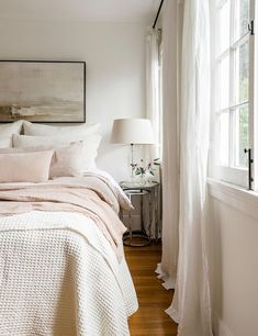 Home Interior Salas soft neutral layers in your bedroom.Home Interior Salas soft neutral layers in your bedroom Farmhouse Bedroom Decor, Cozy Bedroom, Home Decor Bedroom, Bedroom Ideas, Bedroom Designs, Bedroom Bed, Kids Bedroom, Bedroom 2018, Single Bedroom