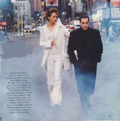 Angels by Peter Lindbergh, with Amber Valetta for Harper's Bazaar '93