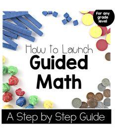 Freebielicious: Guided Math Freebie