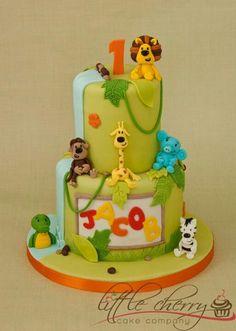 Jungle Birthday Cake ♡