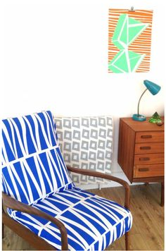 Gallant and Jones Fabric Patterns, Print Patterns, Wordpress, Outdoor Cover, Floor Chair, Interior Styling, Home Remodeling, Mid-century Modern, Pattern Design