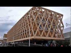 Wood dominates in Cristián Undurraga's Chile Pavilion for Milan Expo