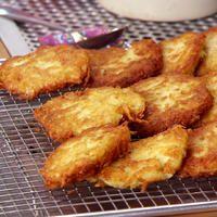 CRISPY POTATO PANCAKE RECIPE - Watch as Anne's in factory potato pancake mode, making fab fried sides.
