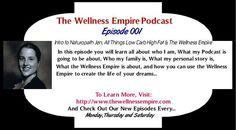 Have you listened to my podcast episode (Podcast Episode 001 - Intro to Naturopath Jen, All Things Low Carb High Fat & The Wellness Empire) yet? If not, please subscribe at https://itunes.apple.com/au/podcast/the-wellness-empire/id819317774?mt=2 or listen via my site...