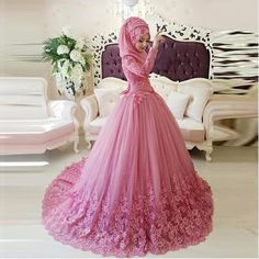 http://babyclothes.fashiongarments.biz/  Arabic Fashion Muslim Bridal Dress Long Sleeve Wedding Dress Ball Gown Pink Lace Applique Islamic Brides Dresses Wedding Gowns, http://babyclothes.fashiongarments.biz/products/arabic-fashion-muslim-bridal-dress-long-sleeve-wedding-dress-ball-gown-pink-lace-applique-islamic-brides-dresses-wedding-gowns/, 		  			  	1. All the dresses we  made will be a little different from the original picture you see on the website , and the size will be more or less…
