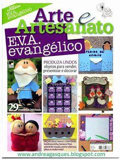 Arte y Artesanato E.V.A evangelicor revistas de manualidades revistas de foami