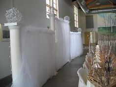 Image result for how to make a portable wedding backdrop frame with PVC piping