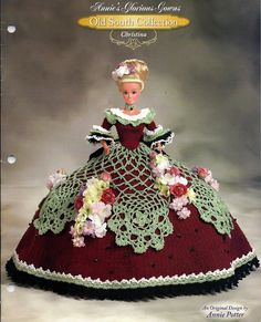 Annies Glorious Gowns Old South Collection / Christina / Crochet Pattern book 8912