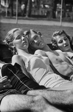 These high schoolers are napping the morning after their prom -- a brief respite before starting the party all over again. Who says America's young people don't show any initiative? (Francis Miller--The LIFE Picture Collection/Getty Images) Vintage Photographs, Vintage Photos, People Sleeping, People Photography, Life Magazine, Historical Photos, Black And White Photography, Cool Pictures, The Past