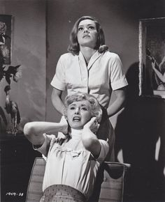 Barbara Stanwyck and Marjorie Bennett in The Night Walker East Los Angeles College, Castle Movie, Comic Art Fans, Double Indemnity, Amsterdam Photos, Night Walkers, Famous Monsters, Barbara Stanwyck, Movie Poster Art