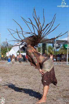 boom festival | Dreads in motion #dance #dreadlocks