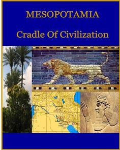 Lapbook or Notebook Cover sheet for Mesopotamia Ancient Civilizations