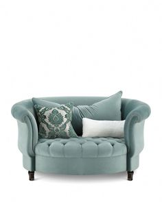 Shop Harlow Sage Cuddle Chair from Haute House at Horchow, where you'll find new lower shipping on hundreds of home furnishings and gifts. Cool Furniture, Living Room Furniture, Living Room Decor, Furniture Design, Bedroom Decor, Rustic Furniture, Furniture Layout, Furniture Logo, Outdoor Furniture