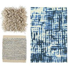 It's never too late for summer essentials!  Fogg, Greta & Dye-Dye rugs made of wool & linen.