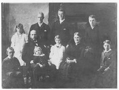 Robert and Sophia Ryburn's Family, 1886