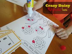Relentlessly Fun, Deceptively Educational: Crazy Daisy Multiplication Game