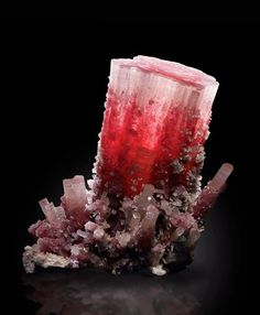 The famous Elbaite Tourmaline 'The Rose of Asia' from Paprok, Afghanistan