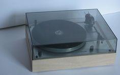 Thorens TD 166 mkII A Pasdeloup Design #Platine #Vinyle #Design #Nantes