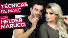 Alice Salazar convida Hélder Marucci para dar dicas e ensinar os seus truques de maquiagem