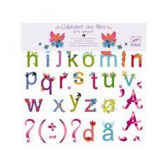 Wallstickers, Girls alphabet