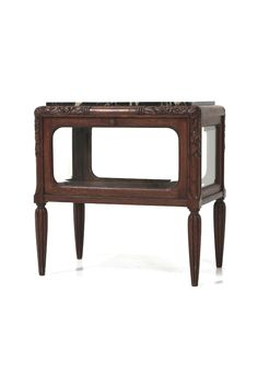 商品ID32077 商品名アールデコティーキャビネット(ショーケース) 輸入国フランス 年代1920 材質オーク材&大理石 サイズ横幅:700 奥行:460 高さ:715mm 重さ:30kg 業販価格¥128,000 (¥138,240 税込)  Product ID 32077 Product Name Art Deco tea cabinet (showcase) Importing country France age 1920 Material oak and marble Size Width: 700 Depth: 460 Height: 715mm Weight: 30kg Industry sales price ¥ 128,000 (¥ 138,240 tax included) ティーセットを飾りながら収納するフランスアンティーク家具のキャビネット。お気に入りを飾るショーケースとしても使えますヨ♪