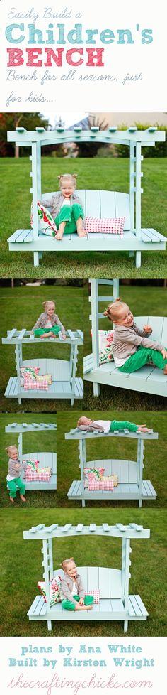BUILD A Childrens Arbor Bench