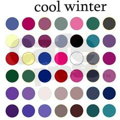 deep winter Sticker (Rectangle) color analysis Sticker deep winter by Turtle Dove - CafePress Deep Winter Palette, Cool Winter Color Palette, Deep Winter Colors, Warm Colors, Winter Color Palettes, Cool Skin Tone, Cool Tones, Colours That Go Together, Color Combinations For Clothes