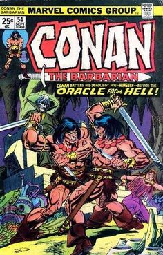 Conan the Barbarian #54 - The Oracle of Ophir!