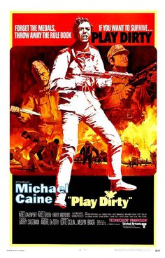 """""""Play Dirty"""" (1969), starring Michael Caine"""