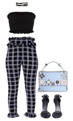"""Signs"" by princess-alexis18 ❤ liked on Polyvore featuring Kenneth Jay Lane, Fendi and Stuart Weitzman"