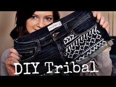 DIY: Tribal Print Shorts! | Monica Church