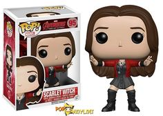 This is the Avengers Age of Ultron Scarlet Witch POP Vinyl Figure. It's so cool to see the Scarlet Witch in Funko POP Vinyl form. The newest Avengers movie Age of Ultron was fantastic, and it was grea Funko Pop Marvel, Marvel Avengers 2, Marvel Comics, Poster Marvel, Avengers Movies, Marvel Art, Scarlet Witch Avengers, Funko Pop Dolls, Funko Toys