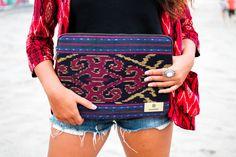"13"" Sumbawa Case Ikat, Originals, Hand Weaving, Shoulder Bag, Bags, Fashion, Handbags, Moda, Hand Knitting"