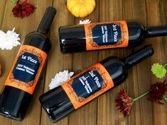 Custom Halloween Wine Personalized Wine Label Halloween Wine Gift Costume Contest Custom Wine Bottles, Custom Wine Labels, Halloween 1, Halloween Costume Contest, Personalized Wine Bottles, Wine Gifts, Wine Rack, Personalized Wine Labels, Wine Racks