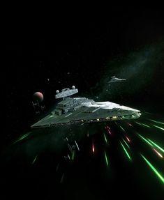 Imperial II Class Star Destroyer by wraithdt on DeviantArt