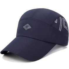 Summer Quick-Drying Baseball Cap For Mens Women Mesh Breathable Hats Sunshade Caps Baseball Crafts, Baseball Party, Baseball Cap, Baseball Game Outfits, Republic Of The Congo, St Kitts And Nevis, Ghana, Laos, Health Fitness