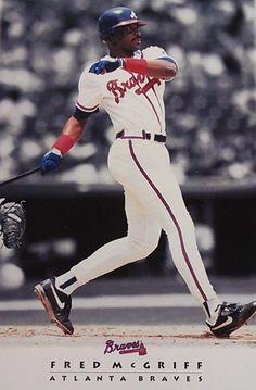 Fred McGriff Best Baseball Player, Braves Baseball, Better Baseball, World Of Sports, Atlanta Braves, Mlb, Group, Board, Planks