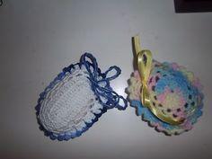 Arte & Crochê: porta sabonetes