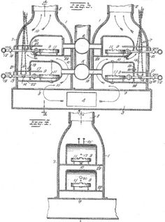 In 1919, Alice Parker of Morristown, New Jersey, invented a new and improved gas heating furnace that provided central heating.