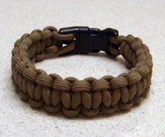 This tutorial will show how to make a paracord bracelet with a side release buckle. When made on a larger scale, you can make this for use as a dog or...