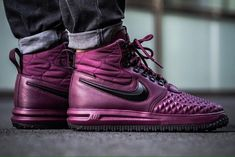 cheap for discount 8260c 87685 Get The Nike Lunar Force 1 Duckboot Bordeaux (Burgundy) Now