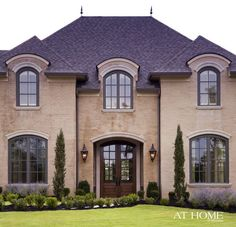 Maybe this color brick exterior instead of stucco?