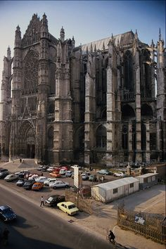 Beauvais in France.....I have been to this cathedral and the photos do not do it justice......It is more impressive that Notre Dame and St. Patrick's in Dublin combined