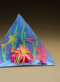 Use Model Magic to teach kids about life under the sea and create DIY anemones.