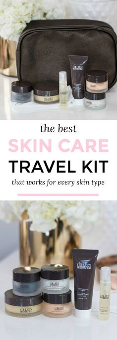 The ultimate skin care travel kit including the best skin care products for every skin type + the 7 skincare products that every woman needs! #colleenrothschild sponsored by Colleen Rothschild | skin care routine, luxury skin care, the best skin care products, luxury beauty, skin care review, Colleen Rothschild Discovery Collection, best skincare for travel, beauty travel set, beauty products for travel