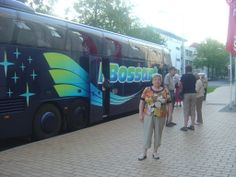 Rostock - our bus at the Inter City Hotel