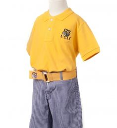 LSU Boys' Gold Polo Shirt | JV Clothiers