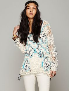Free People Crochet with Strings Pullover http://www.freepeople.com/whats-new/crochet-with-strings-pullover/