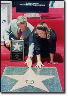 Patsy Cline Husband  charlie and daughter julie attended the hollywood walk of of fame